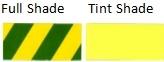 Las tintas de pigmento amarillo de 13 de amarillo de HC (1139)