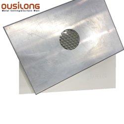 Panneau d'Honeycomb décoratifs en aluminium de construction mur extérieur de matériaux de décoration de plafond