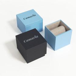 O logotipo personalizado papel Individual Luxo moderno relógio de pulso Embalagem Caixa de papelão para Dom