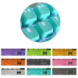 104المفاتيح ABS غطاء مفاتيح ميكانيكي لألعاب Esports البلاستيكية لـ استبدال غطاء المفاتيح الميكانيكي للألعاب