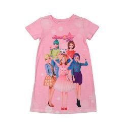 """فتيات"""" أزياء قصيرة الأكمام للأطفال"""" ملابس S"""