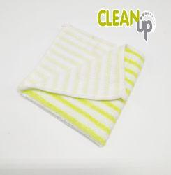 Streifen Microfiber Tuch für Haushalts-Reinigung