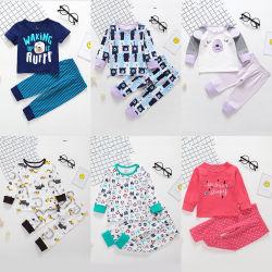 Nueva ropa interior de la infancia de manga larga traje Hogar de Niños ropa ropa de bebé traje para niños y niñas
