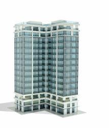 外部の正面見えないフレームの反射青いガラスカーテン・ウォールの価格のガラスカーテン・ウォールのクラッディングのデザインおよび構築
