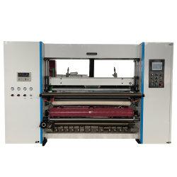 Sistema computadorizado de 1400mm de largura do rolo de papel CAD ATM térmica corte longitudinal de máquina de Enrolamento