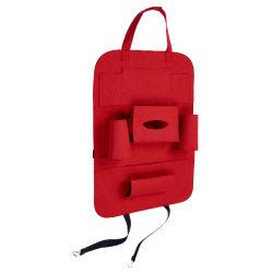 Multifunktions Große Reise Red Car Storage Sitz Zurück Organizer Tasche