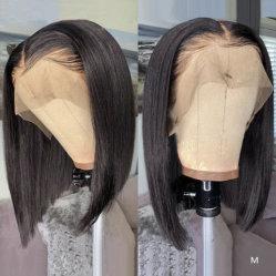 180 плотности с ребенком волос без полного кружева Wig Китая оптовые дешевые Боб природных швейцарских кружева передней Wig человеческого волоса парики