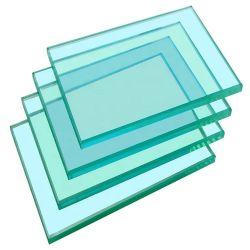 زجاج مبنى مقسّى باللون الأخضر بحجم 6 مم 8 مم، 10 مم، 12 مم، مقوّى سعر زجاج واضح