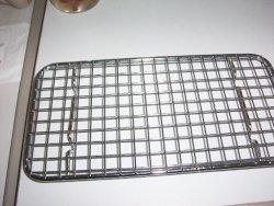 区切端のステンレス鋼のバーベキューBBQのグリルの金網のネット