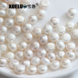 9-9.5mm Aaaa Quality Drilled無しHole Button Round Shape Natural Cultured Freshwater Loose Pearl Beads (XL110045)