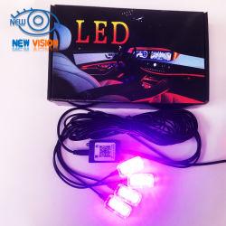 맞춤형 자동 실내 분위기 LED 조명 시스템 주변 차량 라이트 카