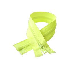 # 스포츠를 위한 5개의 플라스틱 레몬 녹색 테이프 그리고 슬라이더 지퍼