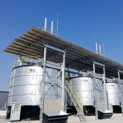 새로운 통합층 치킨 매너로스트 머신 에어로빅 발효 치킨 친환경 생산 라인 유기농 비료