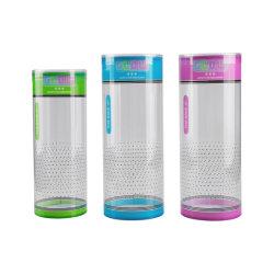 シリンダープラスチック包装ボックス(透明透明透明透明チューブ)