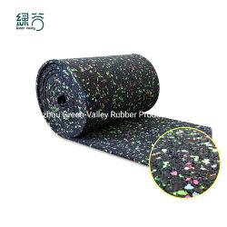 3mm 5mm schalldichte Gummiunterlage-materieller Ton saugfähig für Sport-Fußboden