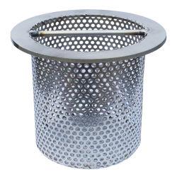 Цилиндрический фильтр Рукой удерживая корзину фильтр для системы фильтрации жидкости