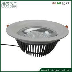 Spot de gros d'éclairage LED 25W COB Downlight Led avec Sharp COB Dongguan LED Spot à lumière à intensité réglable