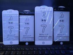 Protector de ecrã iPhone 5D Venda Óculos temperado quente para produtos Apple