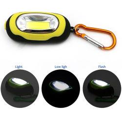 Mini lampada Pocket portatile della PANNOCCHIA LED di modi della torcia elettrica 3 di Keychain
