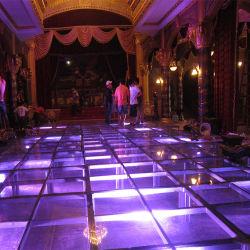 容易な中国はアルミニウム携帯用構造の緩和されたガラスのアクリルの移動段階をインストールする