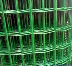 "Garden Craft PVC-gecoat gelaste draad Mesh vierkante gat draad Hekwerk Groen Kleur Iron net 1/4"""