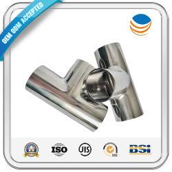 316 مقبس تركيبة أنبوب لحام من الفولاذ المقاوم للصدأ بشوك80 Socket Sch80/المرفق/الغطاء/الموصل/التركيبة على شكل حرف T