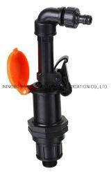 Controle de Fluxo de água plástica da válvula de engate rápido agrícola para a irrigação