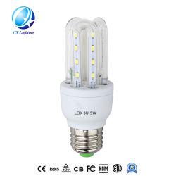 24 W spiraalvormige bloem u-vorm AC DC CFL-energiebesparing LED-lampje