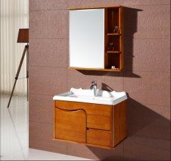 Madera maciza de lujo luz Wall-Mounted moderno cuarto de baño Lavabos wc(Ot-1963