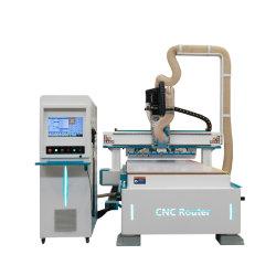 CE ATC 1325 木工用切削 CNC 機械 3 軸 ATC MDF 木製ドア家具用 CNC ルータ木材彫刻機