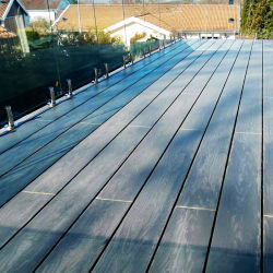 Tavola di plastica WPC Deck pavimenti in legno per esterni