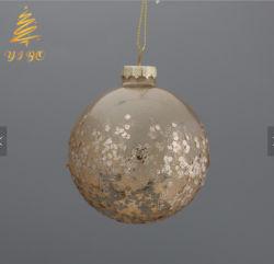 Élégant Style paillette Boule de Noël Boule de décoration en verre