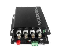 4CH 20/40km FC Video-Audiodaten-optischer Lautsprecherempfänger
