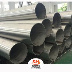 Ss AISI/SSAW REG/LSAW Industria soldado perfecta estructura de tubo de acero Inoxidable acero al carbono trozo de tubo (201, 304, 316L, 340, 321, 904L)