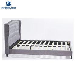 В Итальянском стиле двуспальная кровать из натуральной кожи