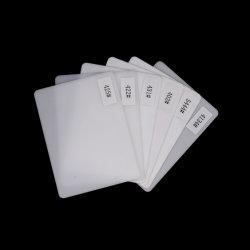 Acrilico Blanco Opal de Ópalo de fábrica de color blanco de lámina de acrílico de 3mm