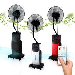Большой бак туманообразующий вентилятор 3.1L AC стенд вентилятор с SAA/CE/CB/Saso