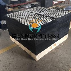 Cerámica alúmina Andcomposite de caucho resistente al desgaste de la placa de cerámica de la placa de revestimiento de cerámica