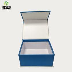 Großhandelshersteller kundenspezifischer Firmenzeichen-hochwertiger Papiergeschenk-Kasten mit Magneten