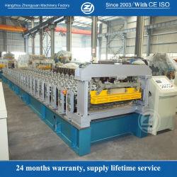 工場寿命サービス! ISO9001/Ce/SGS/Soncapの機械装置の価格を形作る40mmの壁版カラーか電流を通された鋼鉄屋根のパネルシートロール