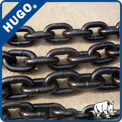 Промышленные оптовой легированная сталь с высоким пределом упругости 8мм G80 ЧЕРНЫЙ подъемные цепи