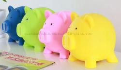 OEM coloridas embarcaciones de plástico Caja de Ahorro de dinero Hucha Toy