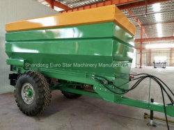 30-60HP 트랙터 비료 스프레더 또는 견인 두엄 스프레더 또는 유기와 석회 비료 스프레더 농업 ATV 트랙터 비료 스프레더 /Dfc-5500