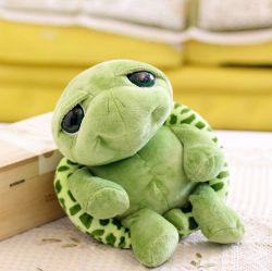 Cute animal marino de juguetes de peluche tortuga