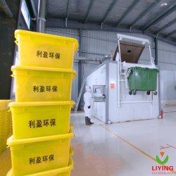 De medische Verwijdering van het Afval met Sterilisator mdu-3 van het Afval van het Ziekenhuis van de Desinfectie van de Microgolf