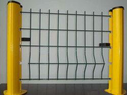Оцинкованный изогнутые Ограждения панели с покрытием из ПВХ