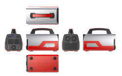 500W génératrice portative d'alimentation de batterie au Lithium haute capacité de 140, 0000