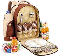 Custom пикник рюкзак для 4 человек