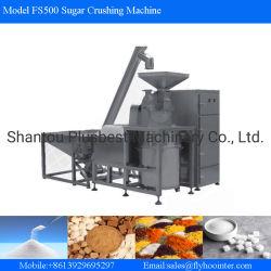 La goma de mascar maquinaria el azúcar blanco trituradora