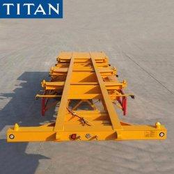 Telaio Port del contenitore del contenitore del titano 20/40FT del rimorchio di scheletro semi/muoversi/fornitori terminali/scheletrici del rimorchio